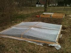 Build an underground greenhouse for year 'round vegetables