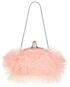 pink purse christian louboutin---very faire frou frou! I totally luv it! Fashion Sale, Look Fashion, Teen Fashion, Christian Louboutin Shoes Sale, Mode Rose, Curvy Petite Fashion, Frou Frou, Everything Pink, Milan Fashion Weeks