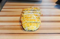 Cheesy bread. I just used shredded cheese instead of grated and it was delicious!!!