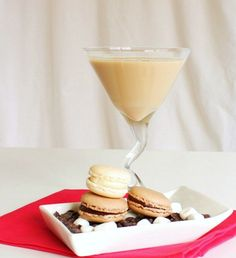 White Chocolate Cream Martini - Might as well drink my dessert!
