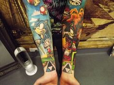Gamer Sleeves tattoos 8531 Santa Monica Blvd West Hollywood, CA 90069 - Call or stop by anytime. UPDATE: Now ANYONE can call our Drug and Drama Helpline Free at 310-855-9168.