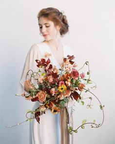 Shade Garden Flowers And Decor Ideas Beautifully Wild Contemporary Bouquet Christin Armstrong Fall Wedding Flowers, Wedding Flower Inspiration, Bridal Flowers, Autumn Wedding, Floral Wedding, Wedding Colors, Flower Bouqet, Spring Wedding, Bouquet Wedding