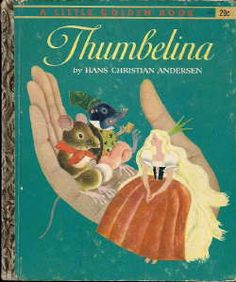 little golden books | Little Golden Book: Thumbelina
