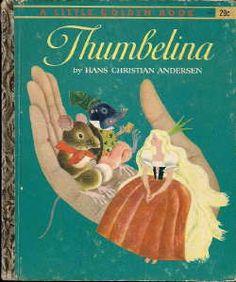 little golden books | Little Golden Book: Thumbelina