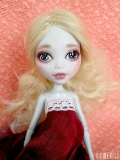 Custom Monster High Doll Lagoona Blue