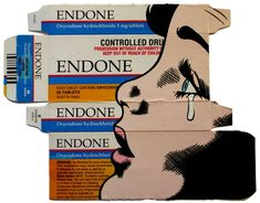 Oxycodone hydrochloride - Packages by Ben Frost