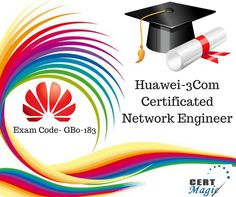 it's a simple and fun method to get ready for the challenge for #Huawei-#3Com #Certificated Network Engineer Exam #Code- GB0-183 visit@:http://www.certmagic.com/GB0-183-certification-practice-exams.html