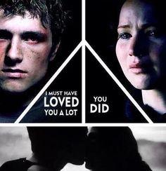 """I must have loved you a lot."" - Peeta (Mockingjay) || *cries*"