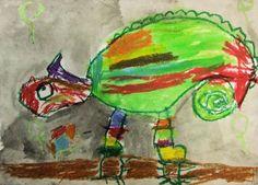 kameleontti-maalaukset, puiden siimes, piiloutuminen