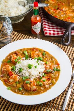 ♥♥ Shrimp Etouffee Recipe , great recipe, I made the seafood stock out of the shells and added in some andouille sausage to make it a little heartier. Fresh herbs and lemon added at the end made it delicious