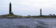 Twin Lights, Thatcher Island, Rockport, MA