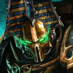 The Rubricae are warriors of the Thousand Sons Legion. These forever cursed Chaos Space Marines exist only as dust, entombed by power armour. Rubricae are automatons used by Thousand Son Sorcerers as bodyguards and enforcers.