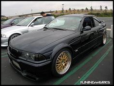 Modified BMW E36 Coupe