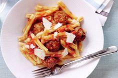 Italian Meatballs w Pasta & Tomato Sauce - Taste.com.au