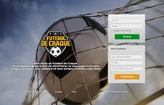 Gampi lança o site Futebol de Craque. #web #futebol