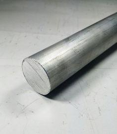 """Vergalhão Redondo Alumínio 1.1/4"""" (3,17cm) - Alumínio Alure"""