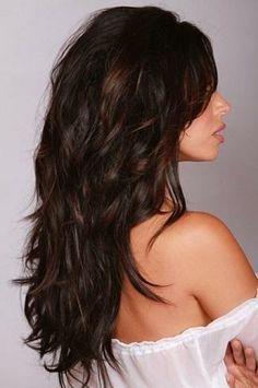 Pretty hair color.