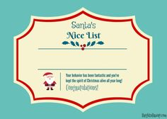Christmas is such a wonderful time. Having special family traditions can only add to the magic. Here are 12 suggestions to up the fun factor this year! Family Traditions, Christmas Traditions, Christmas Activities, Activities For Kids, Santa's Nice List, Africans, Wonderful Time, Certificate, Congratulations