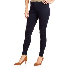 b8810dc1de4419 Faded Glory - Faded Glory Women's Full Length Knit Color Jegging -  Walmart.com