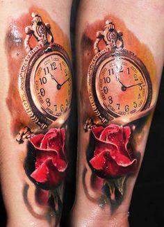 Tattoo Artist - Robert Zyla - time tattoo