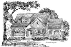 18 Small House Plans: The Sage House, Plan #947