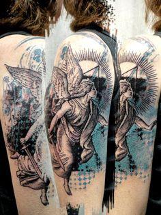 Tattoo by Loic, aka Xoil. #tattoo