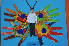 Rupsen en Vlinders Eric Carle, Life Cycles, Butterflies, Disney Characters, Fictional Characters, School, Projects, Spring, Paper