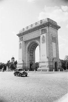 Arcul de Triumf, 1956 foto:Peter Richard/deutschefotothek.de