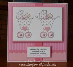 Stampin with Paula: Twins by two