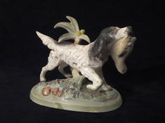 Hey, I found this really awesome Etsy listing at https://www.etsy.com/listing/204519375/vintage-english-setter-ceramic-figurine