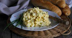 VAJÍČKOVÝ SALÁT Cauliflower, Retro, Meat, Chicken, Vegetables, Recipes, Food, Czech Recipes, Cauliflowers