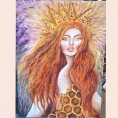 A personal favorite from my Etsy shop https://www.etsy.com/listing/237433641/hive-queen-mary-magdalene-by-tara