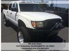 916-868-9422 916-647-2331 2002 Toyota Tacoma, 138,000 miles Price: $11,900 Year: 2002 Make: Toyota Model: Tacoma Trim: PreRunner Double Cab V6 2WD Miles: 138,000 miles VIN: 5TEGN92N72Z129935 Stock #: