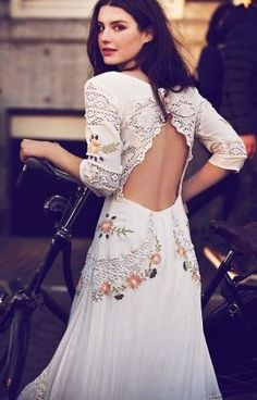 Free People Mexican Wedding Dress