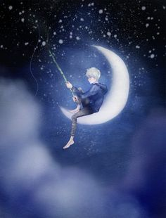 Jack Frost is the Dreamworks moon-fisherman. It only makes sense