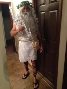 DIY Greek God Costume