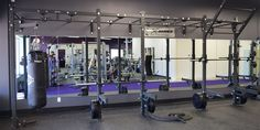 20′ x 4′ Custom X-Rack – ANYTIME FITNESS CHASKA, MN