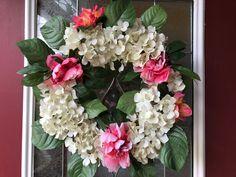 Wreath Hydrangea by SoCuteTreasures on Etsy