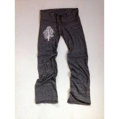 Sittin Under the Oak Tree Pants Yoga Pants Maternity Pants S (1.950 RUB) via Polyvore featuring grey, pants и women's clothing