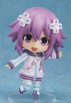 Figures - Hyperdimension Neptunia – Neptune Nendoroid No.378 action ...