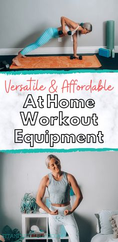 Versatile and affordable at home workout equipment ideas Home Workout Equipment, Yoga Equipment, Fitness Equipment, Fun Workouts, At Home Workouts, Exercise Routines, Workout Tips, Workout Fitness, Yoga Fitness