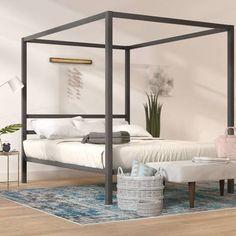 Coleman Canopy Bed - Best Room Decorations for Your Home Furniture, Panel Bed, Bedroom Design, Bedroom Furniture, Bed, Upholstered Platform Bed, Bed Frame, Canopy Bed Frame, Bedroom