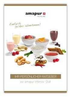 Der neue intensiv Diät Ratgeber ist da! Schweizer Qualität: amapur steht seit 30 Jahren für qualitativ hochwertige Diätprodukte aus der Schweiz. Eine Diät zum gesunden, effizienten Abnehmen. Aber auch zum Entgiften und für bessere Blutdruck- und Cholesterinwerte ist amapur ideal. Dank der unkomplizierten Fertig-Snacks ist die amapur-Diät besonders bei Berufstätigen und Männern sehr beliebt.