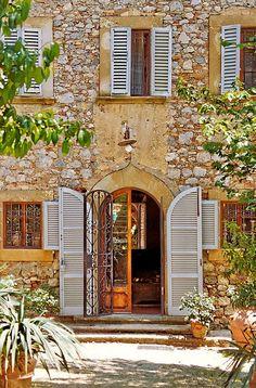 Entryway to Villa, Tuscany. Flickr