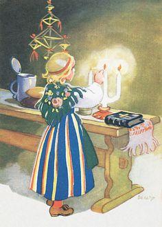 sytyttää kynttilät