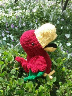 Crochet puppet
