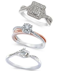 Diamond Promise Ring Collection | macys.com