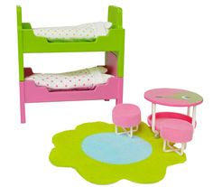 Lundby Smaland Dollhouse Accessories, Children's Bedroom Furniture