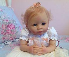 """Ashton drake """"Addie's Tummy Time"""" Adorable ~ Posable Baby Doll"""