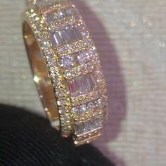 My diamond [Video] Mens Diamond Jewelry, Unique Diamond Rings, Jewelry Gifts, Jewelry Accessories, High Jewelry, Dainty Jewelry, Silver Rings Handmade, Luxury Jewelry, Beautiful Rings